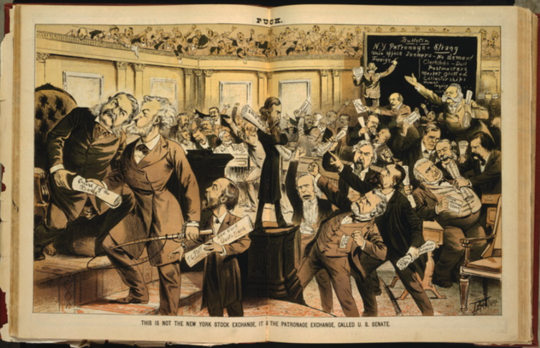 Politikadan Para Kazanmak Yeni Değil - Yaldızlı Çağda Her Zamanki Gibiydi