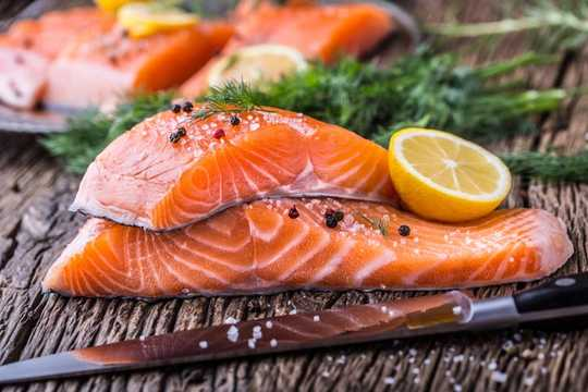 Farmed Salmon Is Now A Staple In Diets – But What They Eat Matters Too