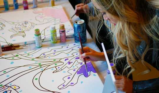How Visual Arts Help Marginalized Youth Learn Mindfulness And Self-compassion