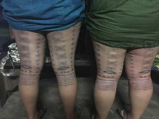 면역 반응에 대한 Untangling Tattoos의 영향
