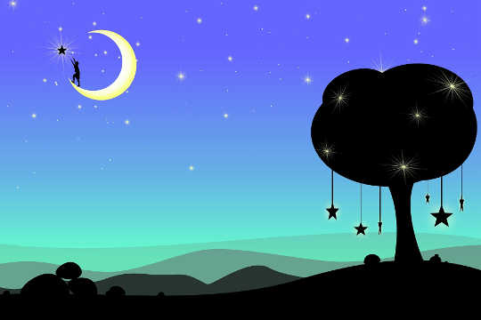 एक जीवित आत्मा बनना: चंद्रमा पर बस इशारा नहीं करना