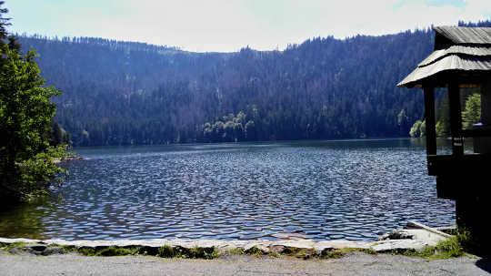 Der Schwarze See in der Tschechischen Republik war Schauplatz einer Desinformationskampagne aus der Sowjetzeit
