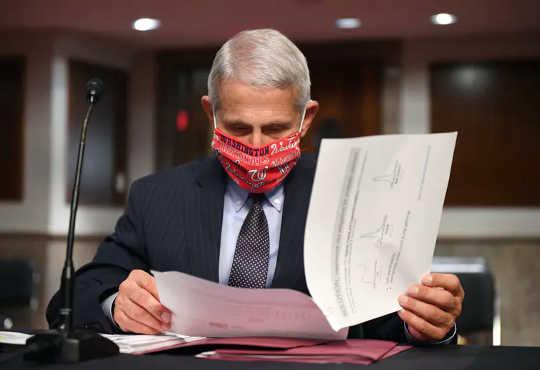 美國國家過敏和傳染病研究所所長Anthony Fauci博士,