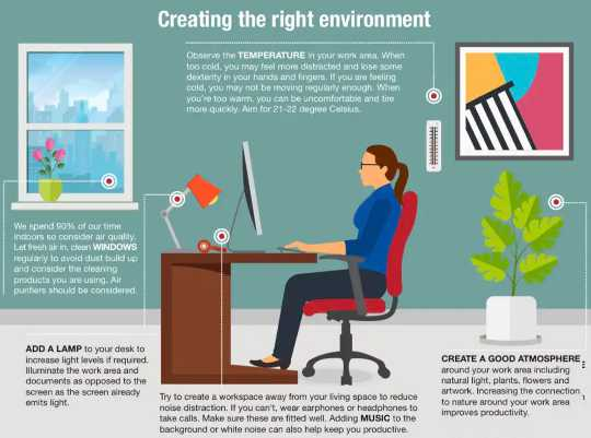 집 작업 공간을 안전하고 위생적으로 유지하는 방법