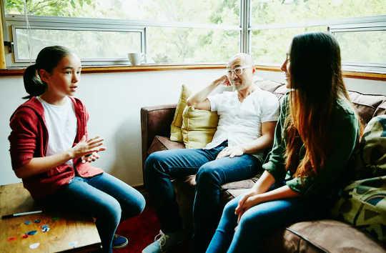 Как семьи могут поддерживать психическое здоровье детей, независимо от того, учатся ли они дистанционно или в школе