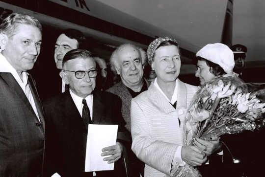 Jean-Paul Sartre en Simone de Beauvoir: dikwels verveeld, maar nooit vervelig nie.