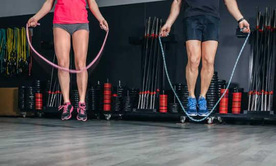 跳过使我们的骨骼更强壮。