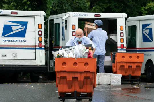 Många kämpar småföretag är i riskzonen för förseningar i USA: s posttjänst