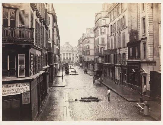 Charles Marville, [Rue de Constantine], cerca de 1865.