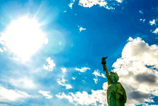 The Pledge of Attention: A Visit to Lady Liberty