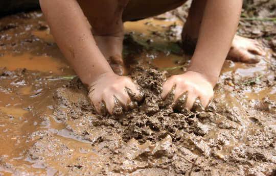 Les enfants ont besoin de divers microbiomes dans leur environnement pour développer un système immunitaire sain. (comment la perte de biodiversité pourrait nous rendre malades)