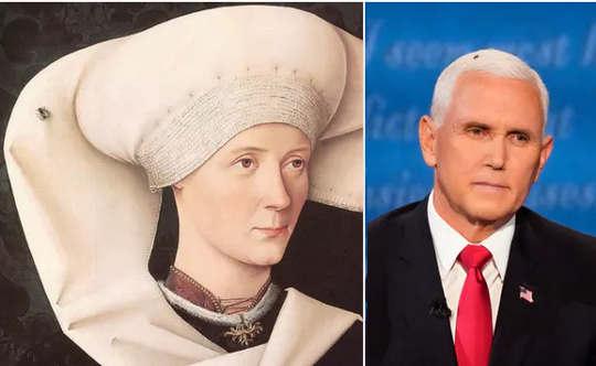 르네상스 초상화에서 살바도르 달리에 이르기까지, 예술가들은 파리를 사용하여 외모에 대해 강조했습니다.