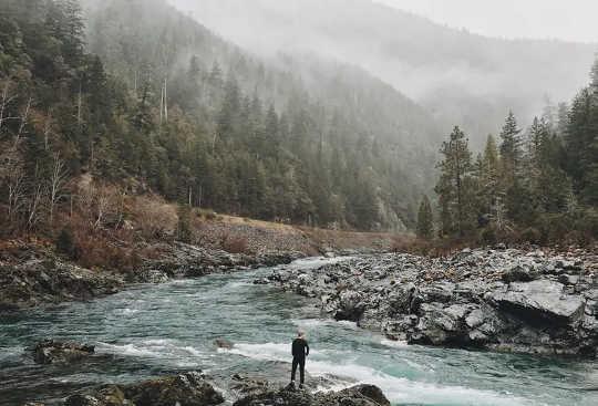 Die mensdom en die natuur is nie apart nie - ons moet dit sien as een om die klimaatkrisis op te los