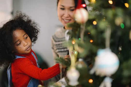 Сохранение семейных традиций поможет детям почувствовать себя счастливыми в это Рождество. (как справиться со следующей изоляцией и Рождеством)