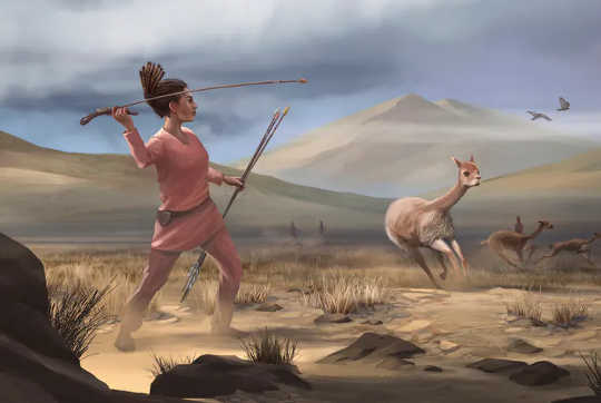 Adakah Beberapa Wanita Prasejarah Juga Memburu?