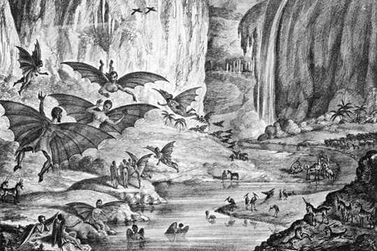 蝙蝠侠和独角兽:原始的月亮骗局中