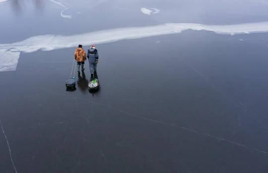 Ole varovainen: Talven hukkuminen voi lisääntyä, kun jää ohenee ilmastonmuutoksen myötä