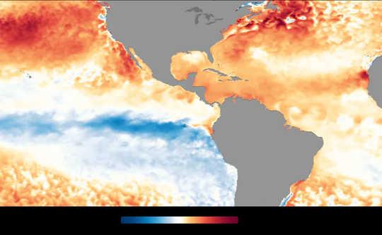 Nhiệt độ bề mặt biển Đại Tây Dương vào tháng 2020 năm 1981 ấm hơn so với mức trung bình năm 2010-XNUMX.