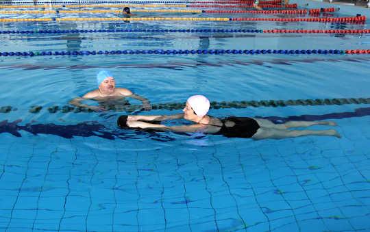 Su Egzersizleri, Kardiyovasküler Hastalıkları Önlemede Spor Salonu Egzersizleri Kadar Etkili