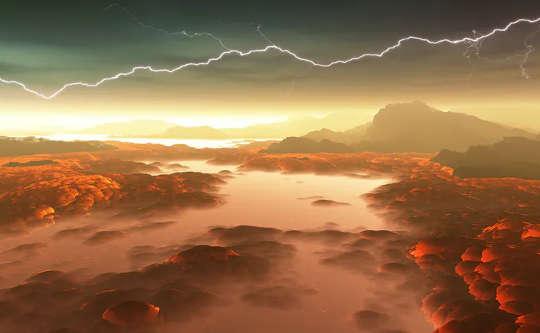 Венера когда-то была больше похожа на Землю, но изменение климата сделало ее непригодной для проживания