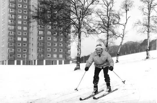Kuinka brittiläiset saivat poikkeuksellisen kylmät talvet