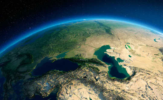 कैस्पियन सागर 9 मीटर या इससे अधिक इस सदी तक गिरने के लिए तैयार है