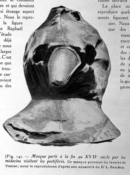 A Brief History Of Masks From The 17th-century Plague To The Ongoing Coronavirus Pandemic