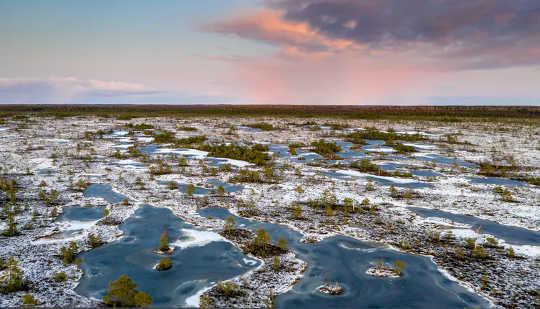 Ons het die wêreld se bevrore veenlande gekarteer en wat ons gevind het, was baie kommerwekkend