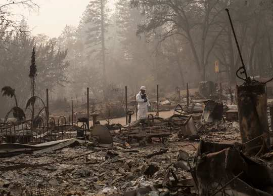 Why Wildfires Can Leave Toxic Drinking Water Behind