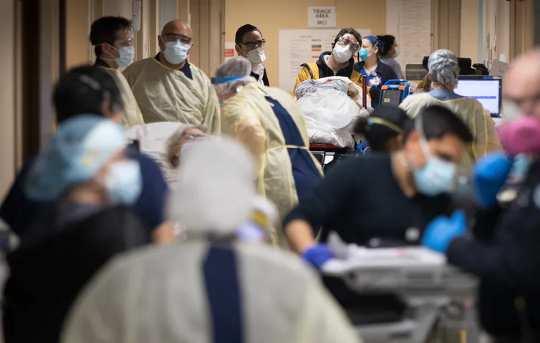 Hva skjer når Covid-19 og influensa kolliderer? Kan sykehus takle belastningen?