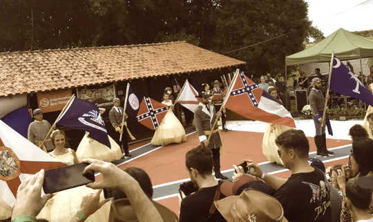 Confederate Flags Fly Worldwide, Igniting Social Tensions And Inflaming Historic Traumas