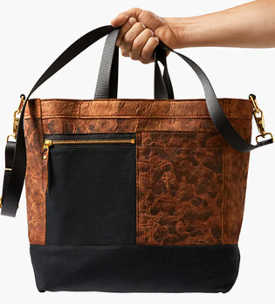 US-based startup Bolt Threads has used myceliym leather to successfully create products such as this bag.