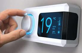 Kodin lämmityksen alentaminen vain 1 ℃ (alle 2 ° F) voi vaikuttaa suuresti laskuihin ja energiankulutukseen.