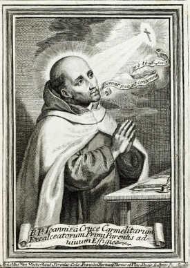 阿诺德·范·韦斯特豪特(Arnold van Westerhout),《十字架约翰的画像》(1719)。