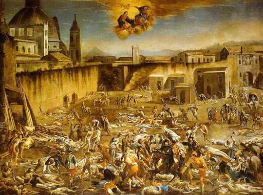 Anche le ondate di peste dell'Europa medievale richiedevano un piano d'azione economico