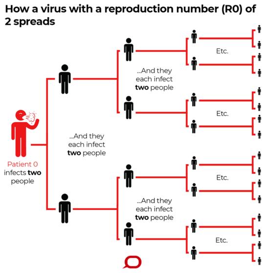 Cómo los científicos cuantifican la intensidad de un brote como el coronavirus y su potencial pandémico