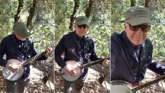 Le banjo de Steve Martin et d'autres musiques jouées de Isolation montrent comment les arts nous connectent