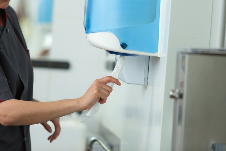 冠狀病毒和洗手:研究表明正確的干手也很重要