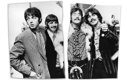 Di dalam The Beatles 'Messy Breakup, 50 Years Ago