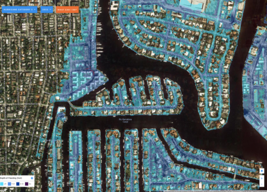 'Sea-level Rise Won't Affect My House' – Even Flood Maps Don't Sway Florida Coastal Residents