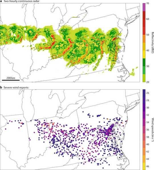 Derechoとは何ですか? 大気の科学者がこれらのまれではあるが危険な嵐システムについて説明する