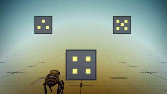 मधुमक्खियां बेहतर जानें जब वे तलाश सकते हैं। मनुष्य उसी तरह काम कर सकते हैं