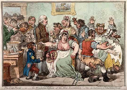 काउ पॉक्स से लेकर कण्ठमाला तक: लोगों को हमेशा टीकाकरण के साथ एक समस्या थी