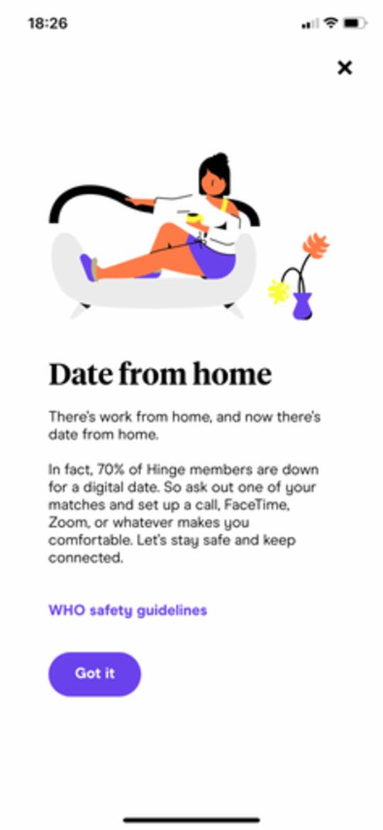 Le sexe le plus sûr que vous n'aurez jamais: comment le coronavirus change les rencontres en ligne