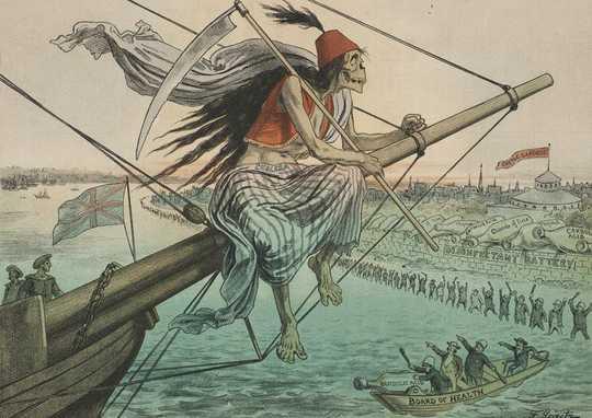 Hoe doodsschepen ziekten door de eeuwen heen hebben verspreid