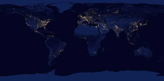 第一个地球日在世界范围内广为流传
