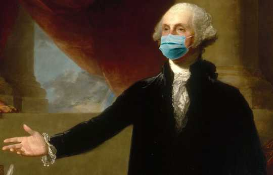George Washington skulle ha så slitit en mask