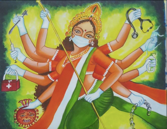 India's Goddesses Of Contagion Provide Protection In The Pandemic