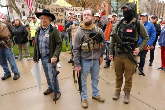 ¿Qué dicen realmente los manifestantes de reapertura?