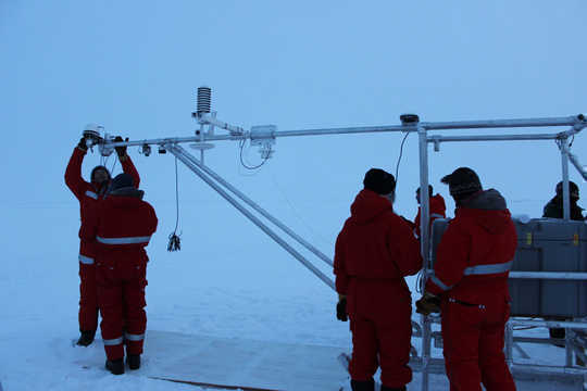 Die gevolge van veranderende Arktiese storms te verstaan